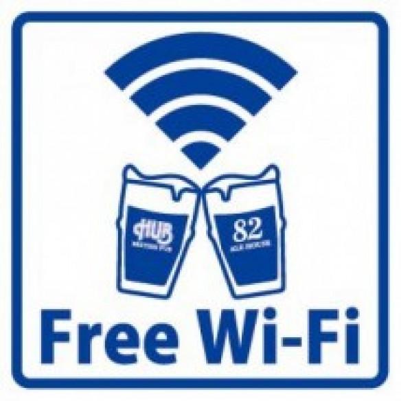 Free wi-fi使えます(^O^)/-0